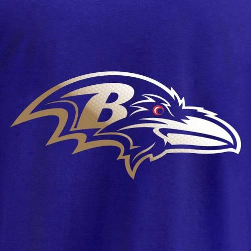 NFL PRO LINE BY FANATICS BRANDED ボルティモア レイブンズ プロ ロゴ Tシャツ 黒 ブラック メンズファッション トップス カットソー メンズ 【 Baltimore Ravens Pro Line By Fanatics Branded Big And Tall Gradient