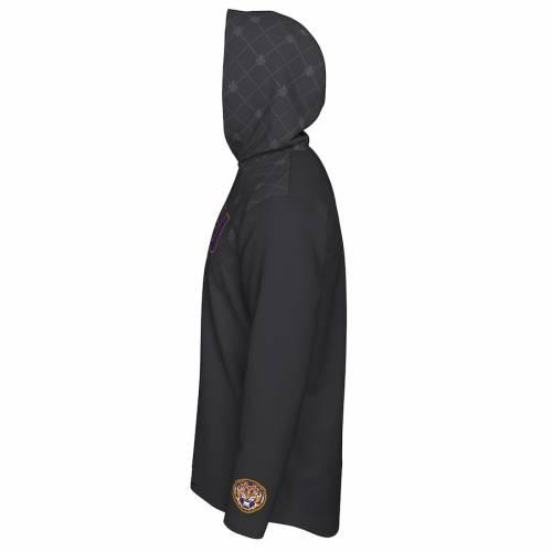 ナイキ NIKE タイガース カレッジ スリーブ Tシャツ メンズファッション トップス カットソー メンズ 【 Lsu Tigers 2019 College Football Playoff Bound Hooded Long Sleeve T-shirt - Anthracite 】 Anthracite