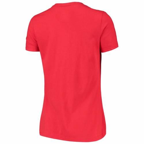 マジェスティック MAJESTIC レディース ゲーム Tシャツ 赤 レッド レディースファッション トップス カットソー 【 Womens 2019 Mlb All-star Game T-shirt - Red 】 Red