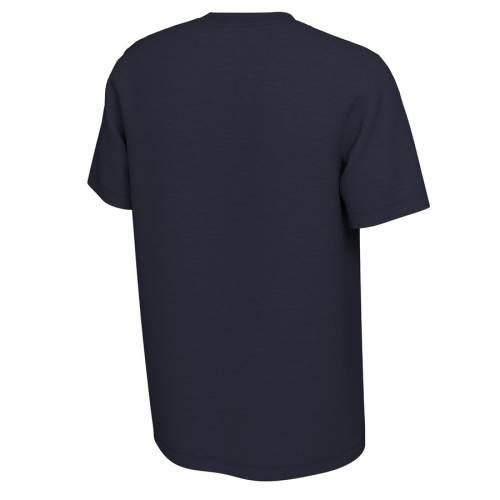 ナイキ NIKE バージニア キャバリアーズ 橙 オレンジ Tシャツ 紺 ネイビー メンズファッション トップス カットソー メンズ 【 Virginia Cavaliers 2019 Orange Bowl Bound Illustration T-shirt - Navy 】 Navy