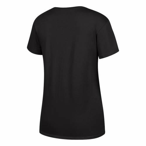 TOP OF THE WORLD オレゴン レディース Tシャツ 黒 ブラック レディースファッション トップス カットソー 【 Oregon Ducks Womens 2019 Pac-12 Football Champions Locker Room T-shirt - Black 】 Black