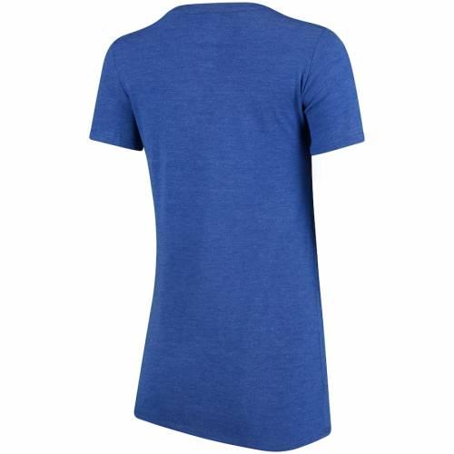 ナイキ NIKE フロリダ レディース ミッド ブイネック Tシャツ レディースファッション トップス カットソー 【 Florida Gators Womens Football Tri-blend Mid V-neck T-shirt - Heathered Royal 】 Heathered Royal
