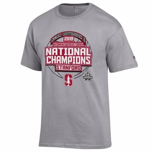 GEAR FOR SPORTS スタンフォード 赤 カーディナル レディース バレーボール Tシャツ 灰色 グレー グレイ メンズファッション トップス カットソー メンズ 【 Stanford Cardinal 2019 Ncaa Womens Volleybal