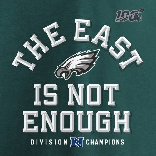 NFL PRO LINE BY FANATICS BRANDED プロ フィラデルフィア イーグルス Tシャツ 緑 グリーン 【 NFL GREEN PRO LINE BY FANATICS BRANDED PHILADELPHIA EAGLES 2019 NFC EAST DIVISION CHAMPIONS COVER TWO TSHIRT MIDNIGHT 】 メンズフ