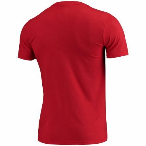 アディダス ADIDAS ロゴ Tシャツ 赤 レッド 【 RED ADIDAS AC MILAN PRIMARY LOGO CREST TSHIRT 】 メンズファッション トップス Tシャツ カットソー
