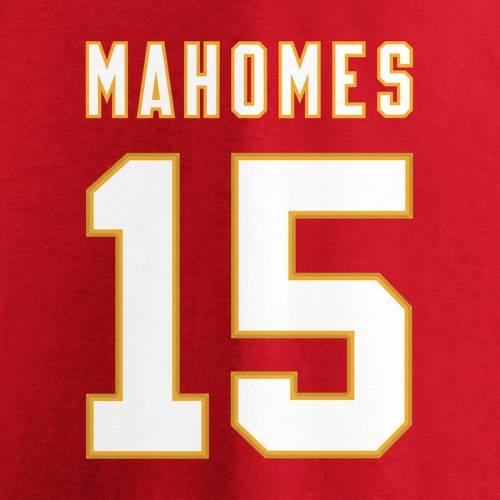 NFL PRO LINE BY FANATICS BRANDED カンザス シティ チーフス レディース スリーブ ブイネック Tシャツ 赤 レッド レディースファッション トップス カットソー 【 Patrick Mahomes Kansas City Chiefs Womens