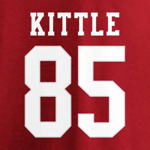 NFL PRO LINE BY FANATICS BRANDED フォーティーナイナーズ レディース ブイネック Tシャツ レディースファッション トップス カットソー 【 George Kittle San Francisco 49ers Womens Super Bowl Liv Bound Plus Size