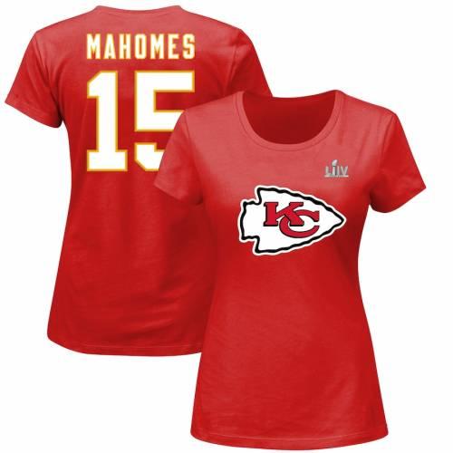 NFL PRO LINE BY FANATICS BRANDED カンザス シティ チーフス レディース Tシャツ 赤 レッド レディースファッション トップス カットソー 【 Patrick Mahomes Kansas City Chiefs Womens Super Bowl Liv Bound Halfback