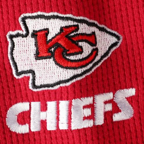 DUNBROOKE カンザス シティ チーフス ヘンリー スリーブ Tシャツ 赤 レッド メンズファッション トップス カットソー メンズ 【 Kansas City Chiefs Maverick Thermal Henley Long Sleeve T-shirt - Red 】 Red