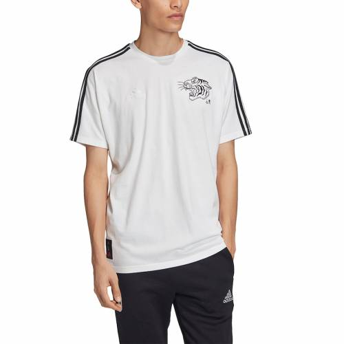 アディダス ADIDAS Tシャツ 白 ホワイト 【 WHITE ADIDAS JUVENTUS CHINESE NEW YEAR TSHIRT 】 メンズファッション トップス Tシャツ カットソー