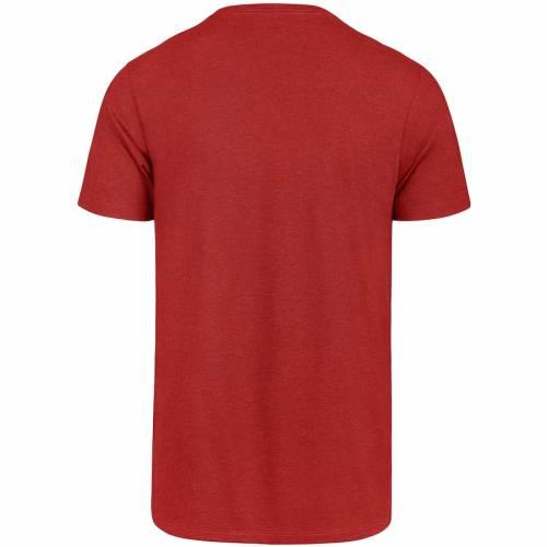 スポーツブランド カジュアル ファッション フォーティーセブン '47 フォーティーナイナーズ クラブ Tシャツ 新発売 サンフランシスコ TSHIRT IMPRINT メンズファッション カットソ フォーティナイナーズ トップス 超激得SALE SCARLET CLUB
