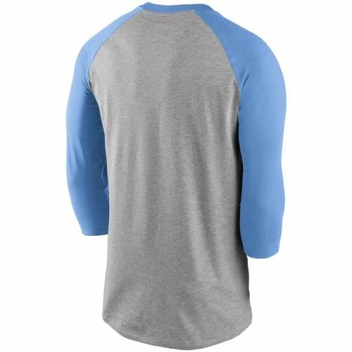 ナイキ NIKE ミネソタ ツインズ クーパーズタウン コレクション ビンテージ ヴィンテージ ラグラン Tシャツ 青 ブルー 灰色 グレー グレイ 【 VINTAGE RAGLAN BLUE GRAY NIKE MINNESOTA TWINS COOPERSTOWN CO