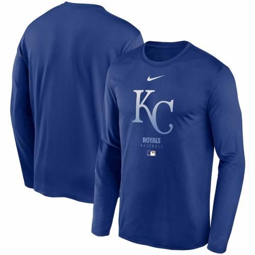 ナイキ NIKE カンザス シティ ロイヤルズ オーセンティック コレクション レジェンド パフォーマンス スリーブ Tシャツ メンズファッション トップス カットソー メンズ 【 Kansas City Royals