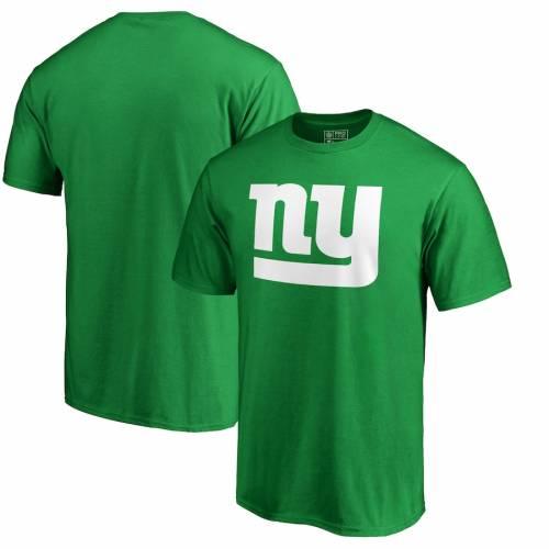 FANATICS BRANDED ジャイアンツ プロ 白 ホワイト ロゴ Tシャツ 緑 グリーン ST. PATRICK'S 【 NFL WHITE GREEN FANATICS BRANDED NEW YORK GIANTS PRO LINE BY DAY LOGO TSHIRT 】 メンズファッション トップス Tシャツ