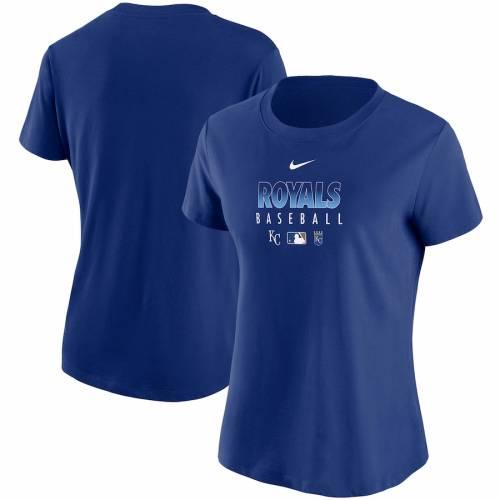 ナイキ NIKE カンザス シティ ロイヤルズ レディース オーセンティック コレクション パフォーマンス Tシャツ レディースファッション トップス カットソー 【 Kansas City Royals Womens Authenti