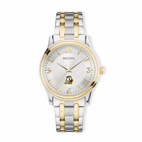 ブローバ BULOVA オレゴン クラシック ウォッチ 時計 銀色 シルバー 金色 ゴールド 【 WATCH SILVER BULOVA OREGON DUCKS CLASSIC TWOTONE ROUND GOLD 】 腕時計 メンズ腕時計
