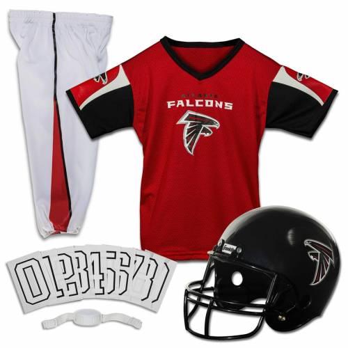 FRANKLIN SPORTS アトランタ ファルコンズ 子供用 デラックス キッズ ベビー マタニティ ジュニア 【 Atlanta Falcons Youth Deluxe Uniform Set 】 Color