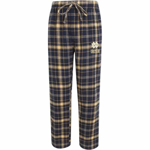 CONCEPTS SPORT インナー 下着 ナイトウエア メンズ ナイト ルーム パジャマ 【 Notre Dame Fighting Irish Big And Tall Homestretch Flannel Pants - Navy/gold 】 Navy/gold