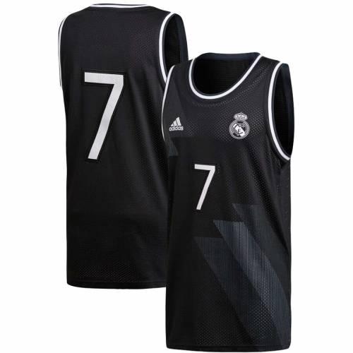 アディダス ADIDAS スペシャル バスケットボール タンクトップ 【 SPECIAL REAL MADRID SEASONAL BASKETBALL TANK TOP BLACK 】 メンズファッション トップス 送料無料