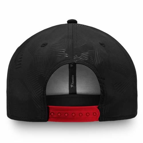 FANATICS BRANDED スナップバック バッグ 黒 ブラック 赤 レッドSNAPBACK BLACK REDPXN80kOwn
