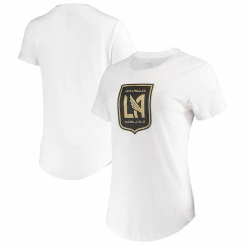 CONCEPTS SPORT レディース Tシャツ 白 ホワイト レディースファッション トップス カットソー 【 Lafc Womens Cloud T-shirt - White 】 White