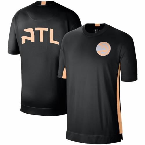 ナイキ NIKE アトランタ ホークス シティ シューティング パフォーマンス Tシャツ 2.0 メンズファッション トップス カットソー メンズ 【 Atlanta Hawks City Edition 2.0 Shooting Performance T-shirt - Bl