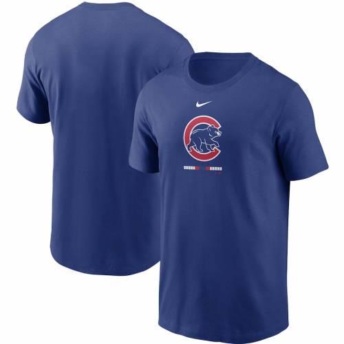 ナイキ NIKE シカゴ カブス レガシー Tシャツ メンズファッション トップス カットソー メンズ 【 Chicago Cubs Legacy T-shirt - Royal 】 Royal