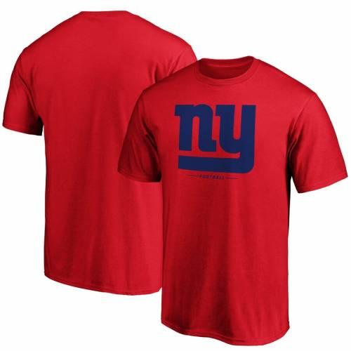 スポーツブランド カジュアル ファッション ファナティクス FANATICS BRANDED ジャイアンツ チーム ロゴ Tシャツ 赤 TEAM RED LOCKUP メンズファッション ニューヨーク TSHIRT LOGO セール特価 カットソー トップス 当店は最高な サービスを提供します レッド