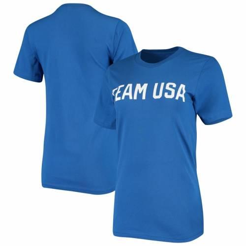 激安直営店 アウタースタッフ OUTERSTUFF チーム レディース Tシャツ WOMEN&39;S 【 TEAM OUTERSTUFF USA IDENTITY TSHIRT ROYAL 】 レディースファッション トップス Tシャツ カットソー, 安価 e69f1d34