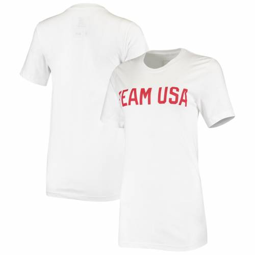 最初の  アウタースタッフ OUTERSTUFF チーム レディース Tシャツ 白色 ホワイト WOMEN&39;S 【 TEAM OUTERSTUFF USA IDENTITY TSHIRT WHITE 】 レディースファッション トップス Tシャツ カットソー, ニシノミヤシ 4ee0c238