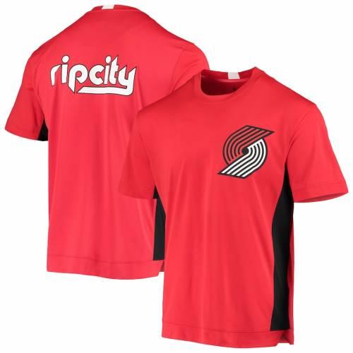 ナイキ NIKE ポートランド シティ シューティング パフォーマンス Tシャツ 2.0 メンズファッション トップス カットソー メンズ 【 Portland Trail Blazers City Edition 2.0 Shooting Performance T-shirt - Red