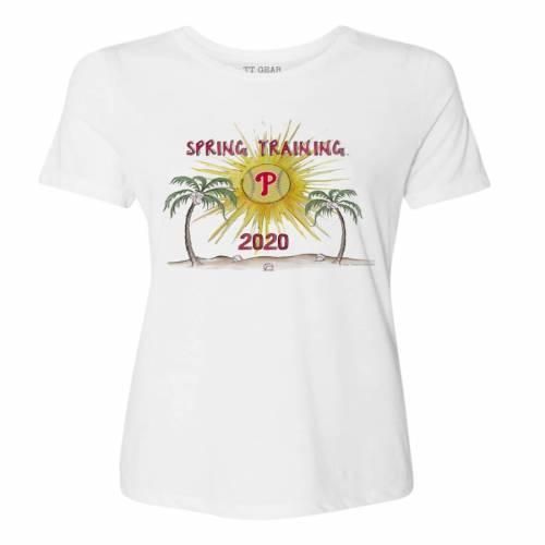 【コンビニ受取対応商品】 TINY TURNIP フィラデルフィア フィリーズ レディース スプリング トレーニング Tシャツ 白色 ホワイト WOMEN&39;S 【 SPRING TINY TURNIP 2020 TRAINING TSHIRT WHITE 】 レディースファッション トップス Tシ, 総合防災センター d779f619