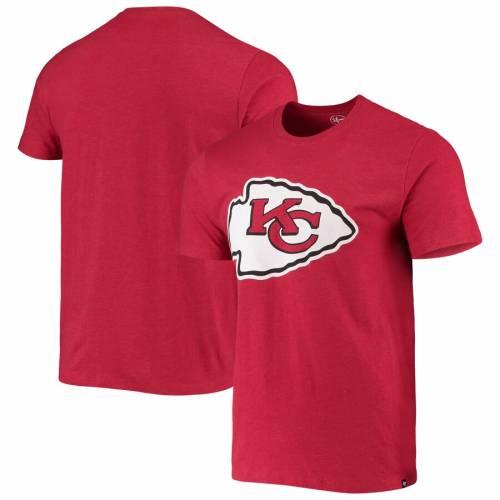 【サイズ交換OK】 フォーティーセブン &39;47 カンザス シティ チーフス ライバル Tシャツ 赤 レッド &39;47 カンザスシティ 【 RED IMPRINT SUPER RIVAL TSHIRT 】 メンズファッション トップス Tシャツ カットソー, 三隅町 f2e3d3c5