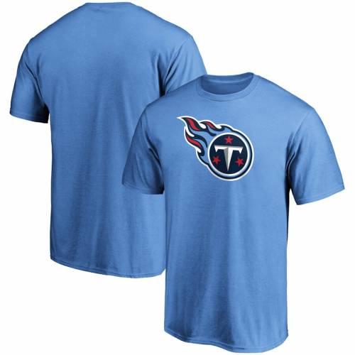 スポーツブランド カジュアル ファッション ファナティクス FANATICS BRANDED テネシー タイタンズ 商品 ロゴ Tシャツ 青色 BLUE PRIMARY トップス メンズファッション LOGO ブルー 超目玉 カットソー TSHIRT LIGHT