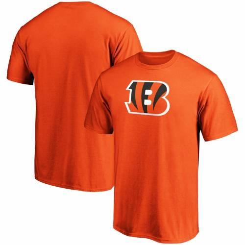 スポーツブランド カジュアル ファッション ファナティクス FANATICS BRANDED シンシナティ ベンガルズ 買い取り ロゴ チーム Tシャツ ORANGE 橙 カットソー LOGO TEAM PRIMARY オレンジ メンズファッション TSHIRT トップス 選択