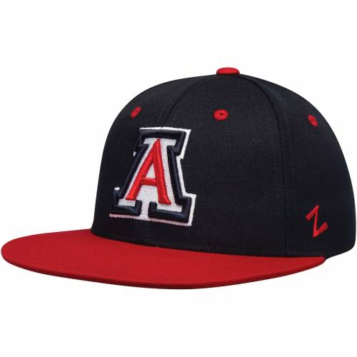 ZEPHYR アリゾナ バッグ キャップ 帽子 メンズキャップ メンズ 【 Arizona Wildcats M15 Fitted Hat - Navy/red 】 Navy/red