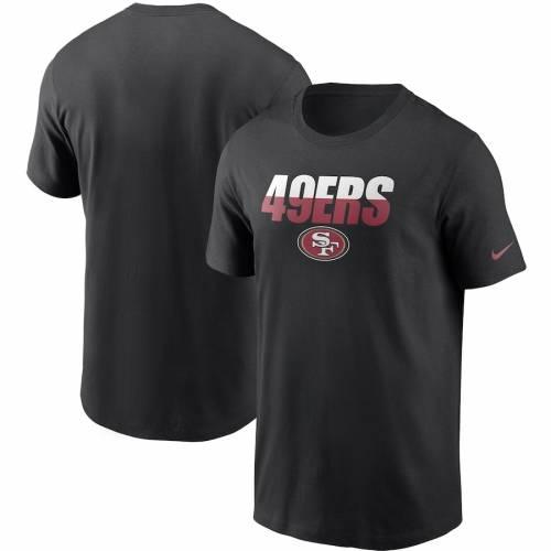 ナイキ NIKE フォーティーナイナーズ Tシャツ 黒 ブラック メンズファッション トップス カットソー メンズ 【 San Francisco 49ers Split T-shirt - Black 】 Black