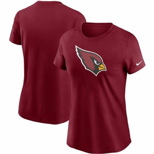 ナイキ NIKE アリゾナ カーディナルス レディース ロゴ Tシャツ 赤 カーディナル レディースファッション トップス カットソー 【 Arizona Cardinals Womens Logo Essential T-shirt - Cardinal 】 Cardinal