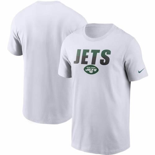 ナイキ NIKE ジェッツ Tシャツ 白 ホワイト メンズファッション トップス カットソー メンズ 【 New York Jets Split T-shirt - White 】 White