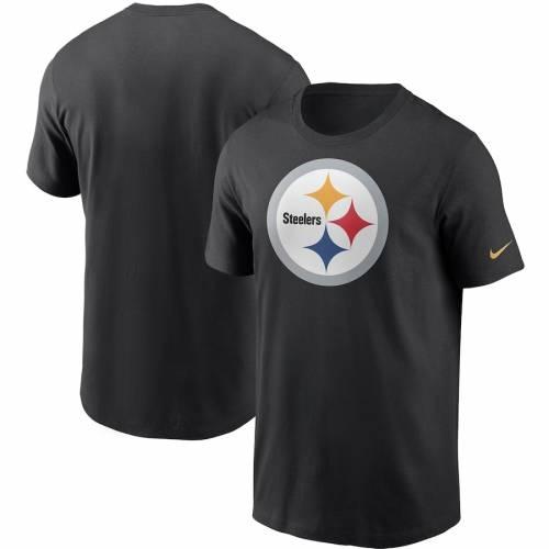ナイキ NIKE ピッツバーグ スティーラーズ ロゴ Tシャツ 黒 ブラック メンズファッション トップス カットソー メンズ 【 Pittsburgh Steelers Primary Logo T-shirt - Black 】 Black
