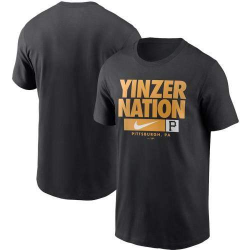 ナイキ NIKE ピッツバーグ 海賊団 パフォーマンス Tシャツ 黒 ブラック メンズファッション トップス カットソー メンズ 【 Pittsburgh Pirates Local Nickname Performance T-shirt - Black 】 Black