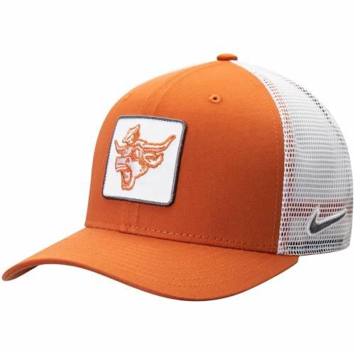 ナイキ NIKE テキサス クラシック ロゴ トラッカー スナップバック バッグ 橙 オレンジ キャップ 帽子 メンズキャップ メンズ 【 Texas Longhorns Classic 99 Alternate Logo Trucker Adjustable Snapback Hat -