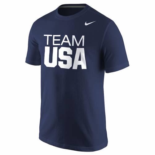 ナイキ NIKE チーム クラシック コア Tシャツ 灰色 グレー グレイ メンズファッション トップス カットソー メンズ 【 Team Usa Wordmark Classic Core T-shirt - Heathered Gray 】 Navy