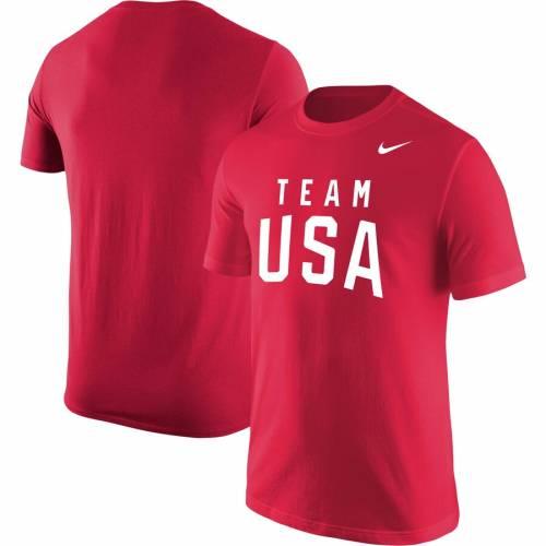 ナイキ NIKE チーム クラシック コア Tシャツ 灰色 グレー グレイ メンズファッション トップス カットソー メンズ 【 Team Usa Wordmark Classic Core T-shirt - Heathered Gray 】 Red