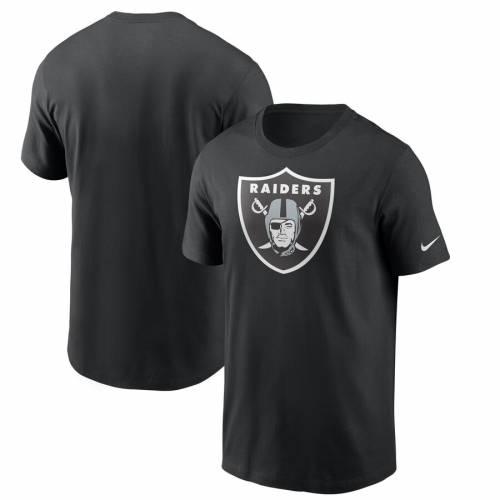 ナイキ NIKE レイダース ロゴ Tシャツ 黒 ブラック メンズファッション トップス カットソー メンズ 【 Las Vegas Raiders Primary Logo T-shirt - Black 】 Black