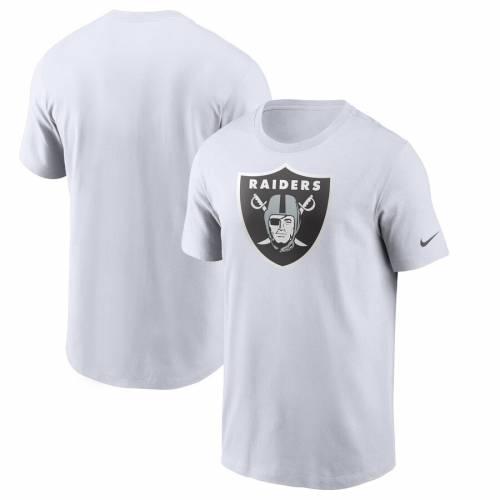 ナイキ NIKE レイダース ロゴ Tシャツ 黒 ブラック メンズファッション トップス カットソー メンズ 【 Las Vegas Raiders Primary Logo T-shirt - Black 】 White