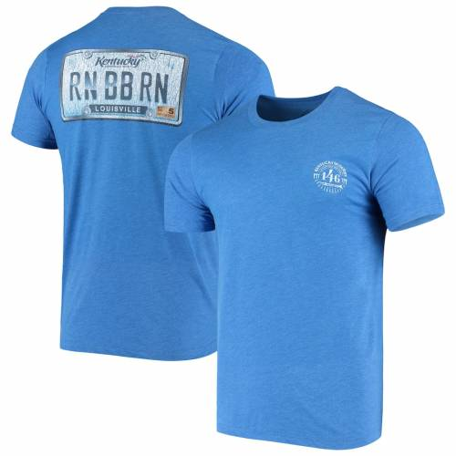 AHEAD ケンタッキー Tシャツ メンズファッション トップス カットソー メンズ 【 Kentucky Derby 146 License Plate T-shirt - Royal 】 Royal