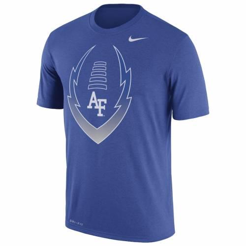 ナイキ NIKE エア ファルコンズ レジェンド アイコン パフォーマンス Tシャツ メンズファッション トップス カットソー メンズ 【 Air Force Falcons Legend Icon Performance T-shirt - Royal 】 Royal