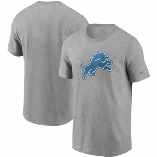 ナイキ NIKE デトロイト ライオンズ ロゴ Tシャツ 灰色 グレー グレイ メンズファッション トップス カットソー メンズ 【 Detroit Lions Primary Logo T-shirt - Heathered Gray 】 Heathered Gray