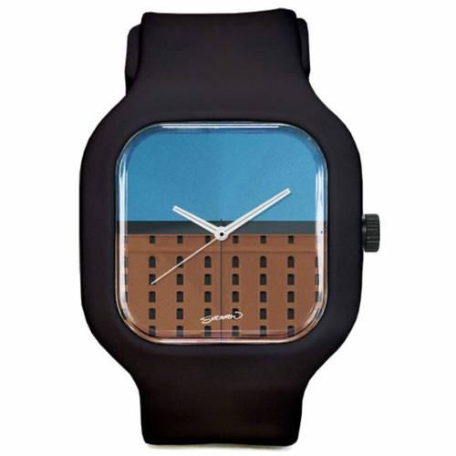 MODIFY WATCHES ボルティモア オリオールズ ウォッチ 時計 黒 ブラック 【 WATCH BLACK MODIFY WATCHES BALTIMORE ORIOLES CAMDEN YARDS MINIMALIST SPORT 】 腕時計 メンズ腕時計